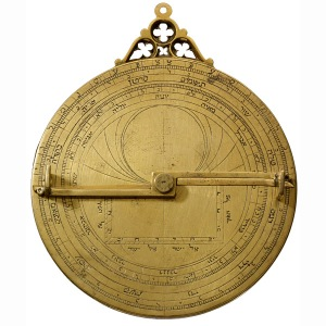 Hebrew Astrolabe (reverse) Copyright Trustees of the British Museum